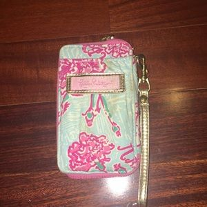 Lily Pulitzer wallet phone case